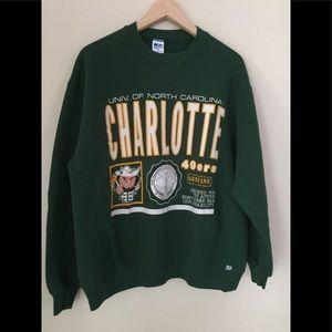 UNC Charlotte Throwback Vintage Sweatshirt